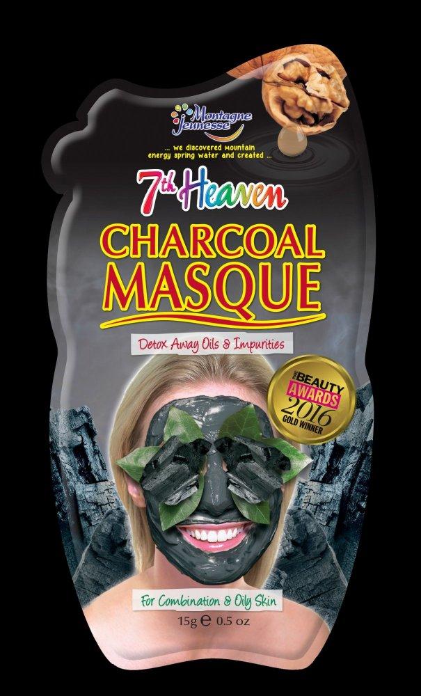 64a6953171 7th Heaven  Pleťové masky s uhlím pro vegetariány